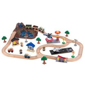 KidKraft Bucket Top Mountain Train Set, Multi